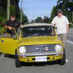 At the start in the Fraser Valley of British Colum
