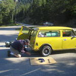 First rear suspension adjust Kootenay Lake