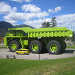 ROO World s Biggest Truck Sparwood