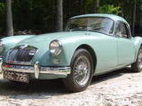 1957 MG MGA Coupe Island Green C Jones