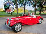 1955 MG TF 1500 MG Red Lonnie Cook