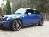 2005 BMW MINI John Cooper Works Hyper Blue James Andrews