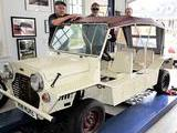 1965 Mini Moke Old English White Peter Braun