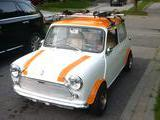 1979 Mini 1275GT White orange Corey Mason