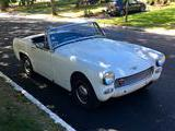 1966 Austin Healey Sprite White Kevin O Connell