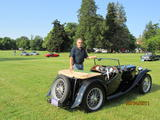 1949 MG TC Black Terry Allen