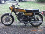 1972 Yamaha MC DS7 Black And Yellow Terry Allen