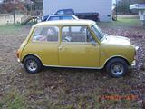 1973 Mini Cooper Harvest Gold Terry Allen